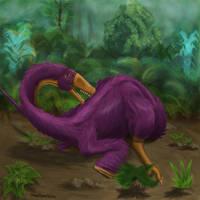 Borogovia dinosaur by Flyinfrogg