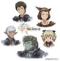 Final Fantasy XIV by Milady666