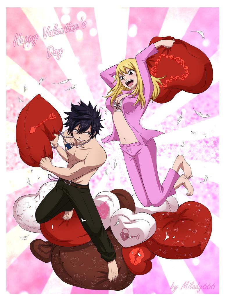 Happy valentine 39 s day by milady666 on deviantart - Happy valentines day anime ...