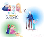 Frozen Tangled Guardians