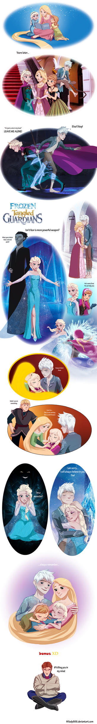 Frozen Tangled Guardians_alternative story by Milady666