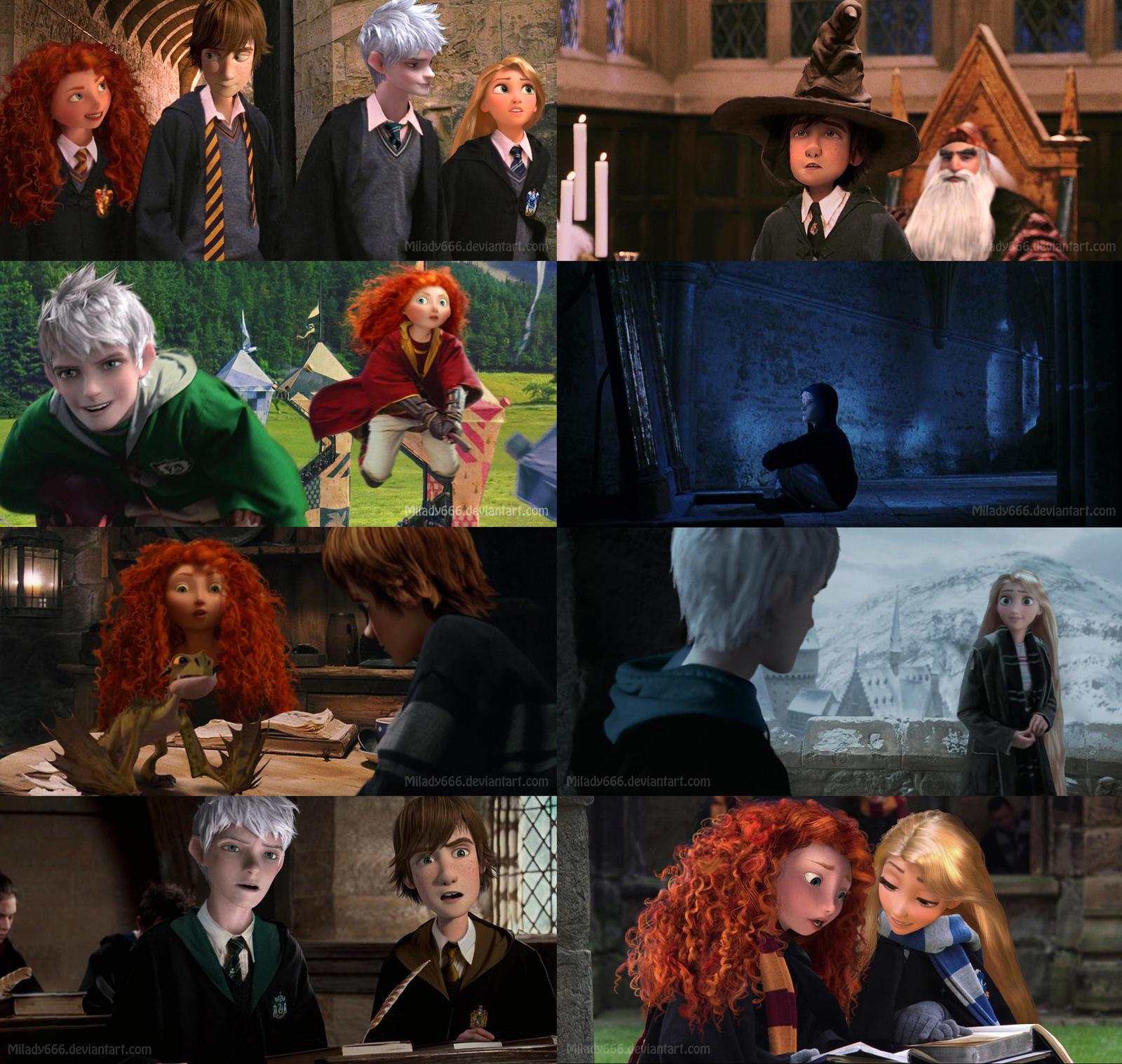 RotBTD_Hogwarts_AU by Milady666