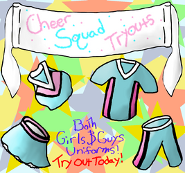 Tao High Cheer Squad Tryouts!