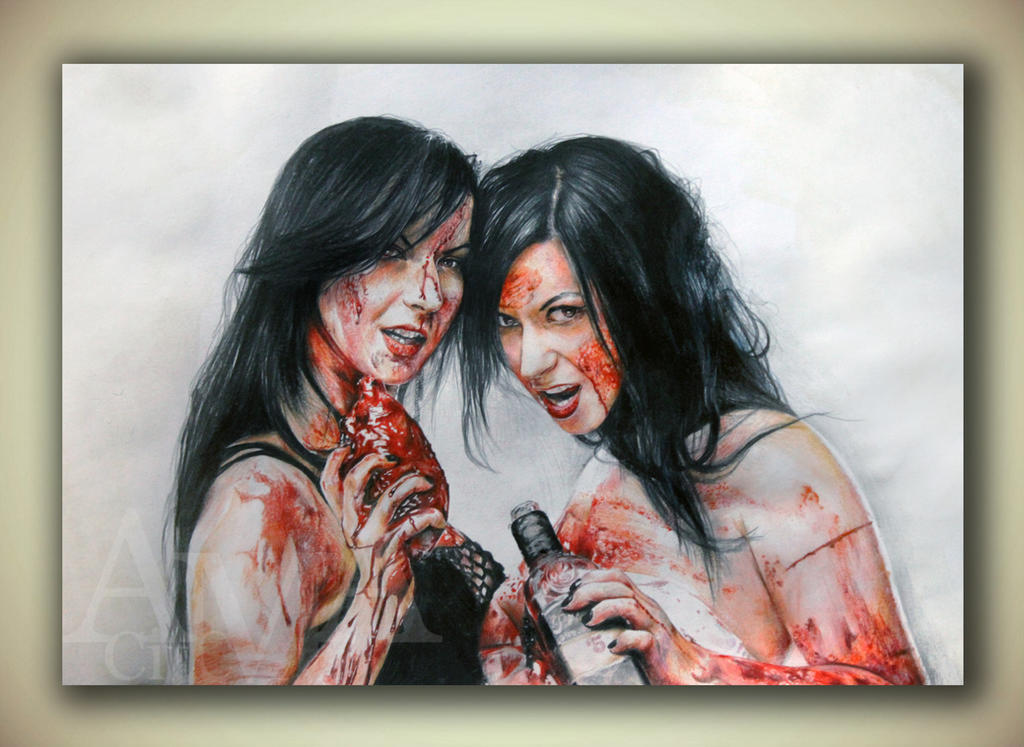 Sylvia and Jen Soska by CitcCitc