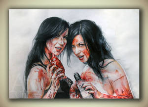 Sylvia and Jen Soska