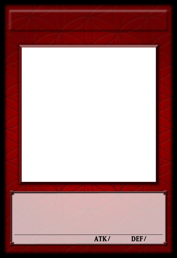 Yu gi oh fractional monster template by polarbearoc on for Craft fair application template
