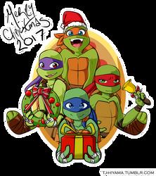 Merry Turtle-mas! by TJ-Hiyama