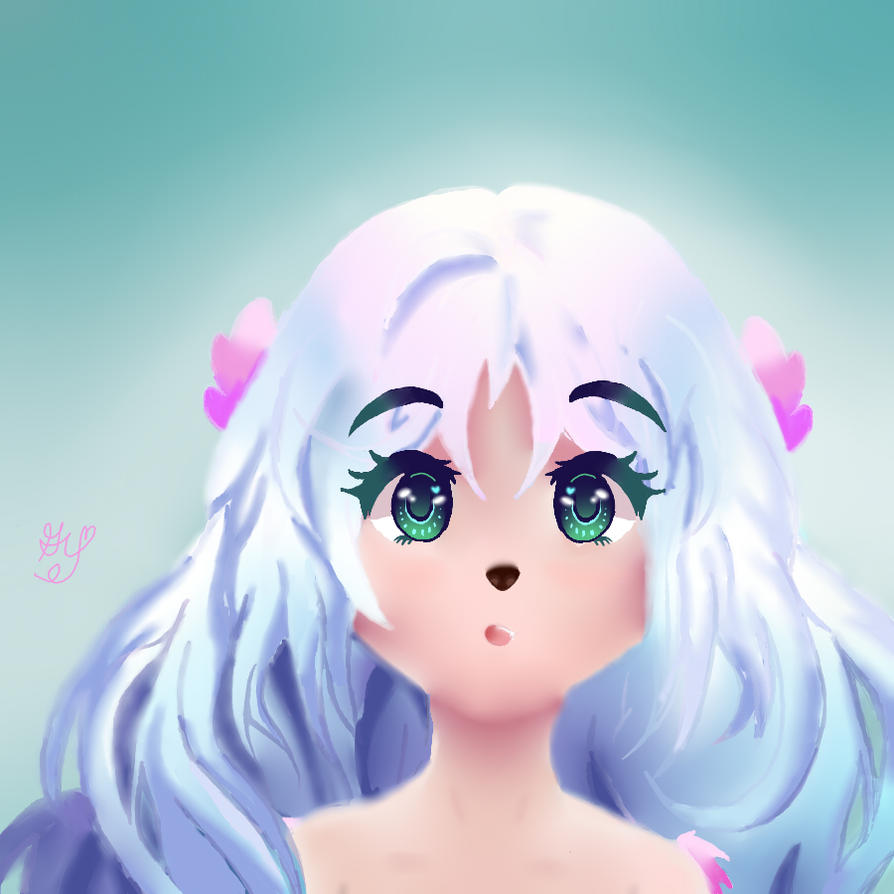 Nymph Drawing by gracewrites