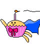 cupcake (pixel art) by lowlance