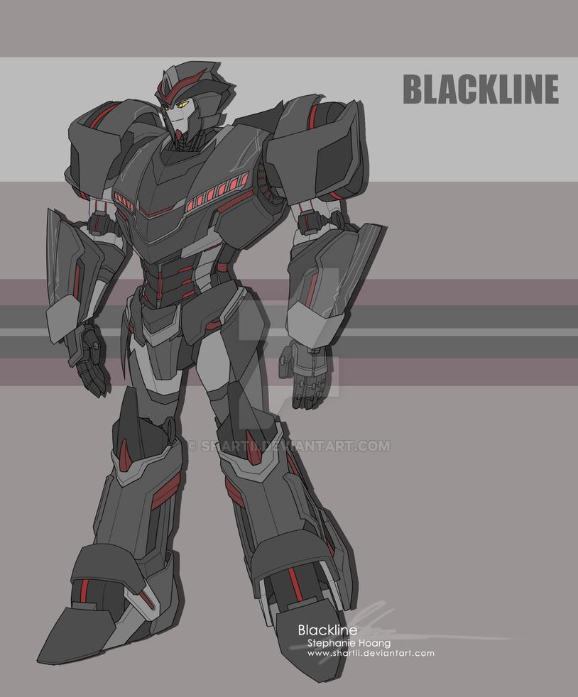 TF OC: Blackline by SHArtII