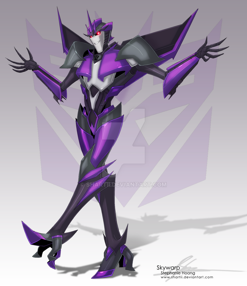 Skywarp (TFP Verse) by SHArtII