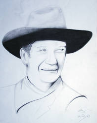 John Wayne by davemcg65
