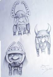 Three Dwalves 04 Feb 16 by davemcg65