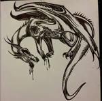 Archdemon Tribal by Glyphron