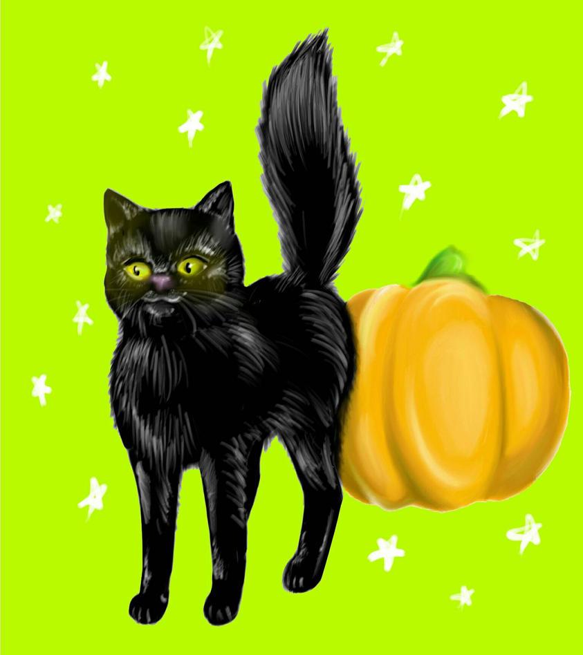 halloween catglyphron on deviantart
