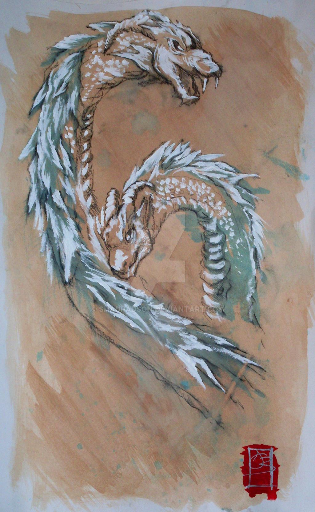 Dragon Series 1 Earth by shadradson