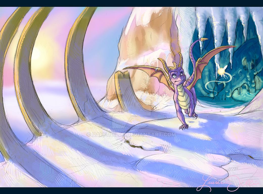 Crystal Glacier by DaffoDille