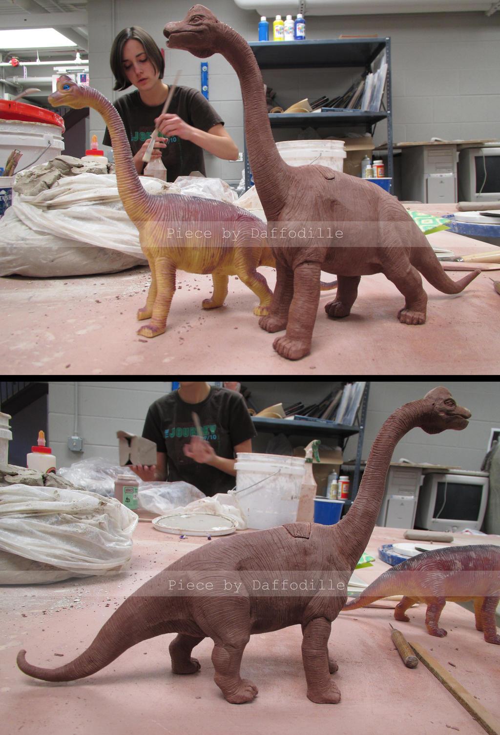 Brachiosaurus Teapot by DaffoDille