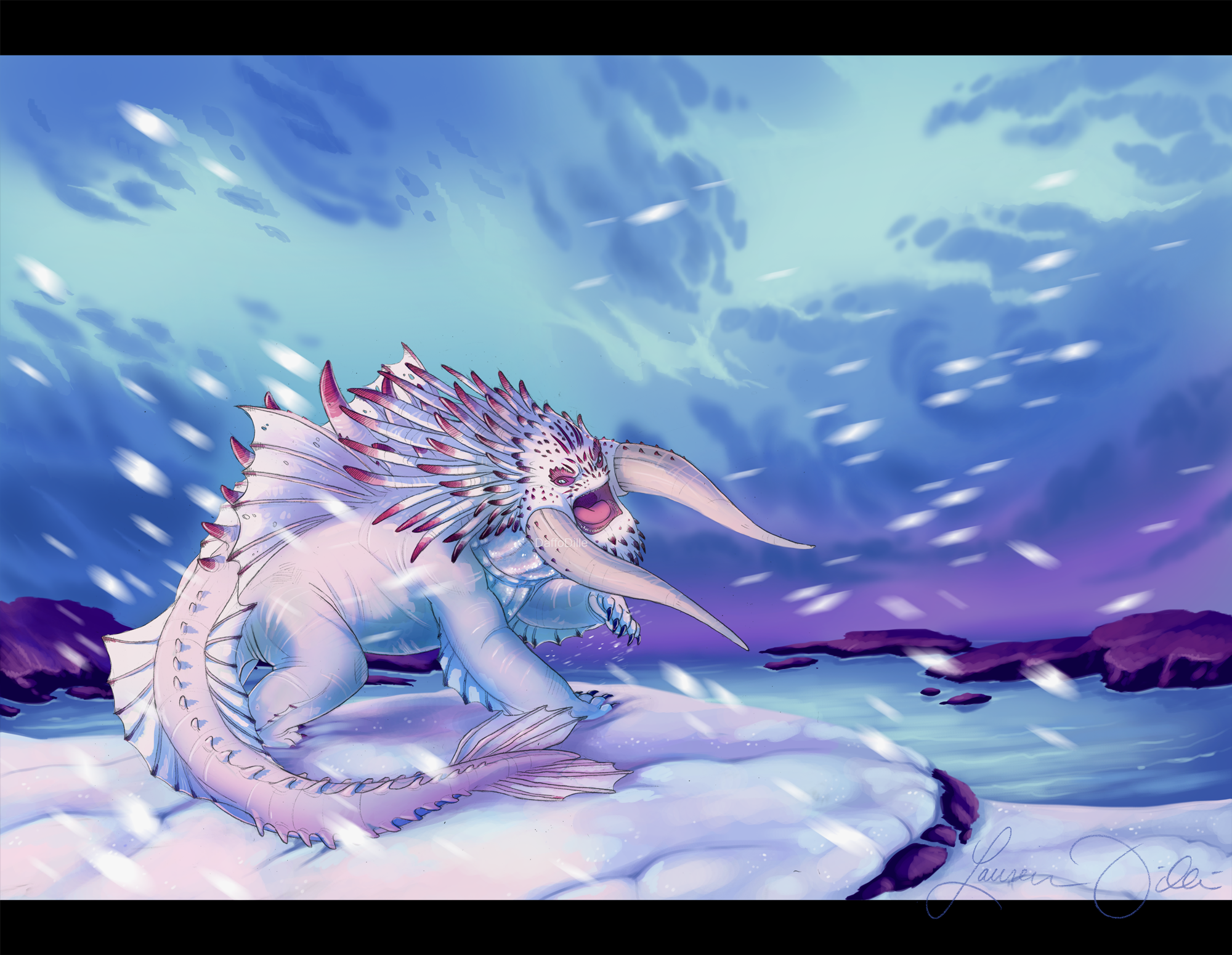 Bewilderbeast The King Of Dragons By Daffodille On Deviantart