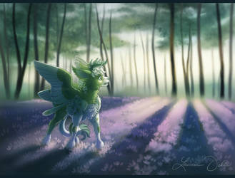 Violet Forest by DaffoDille