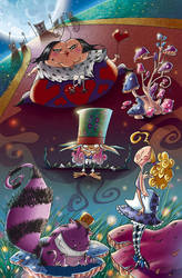 Alice in Wonderland! by arkad76