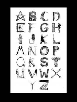 Supernatural Alphabet