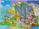 Wonder boy V Monster World III by goemon59