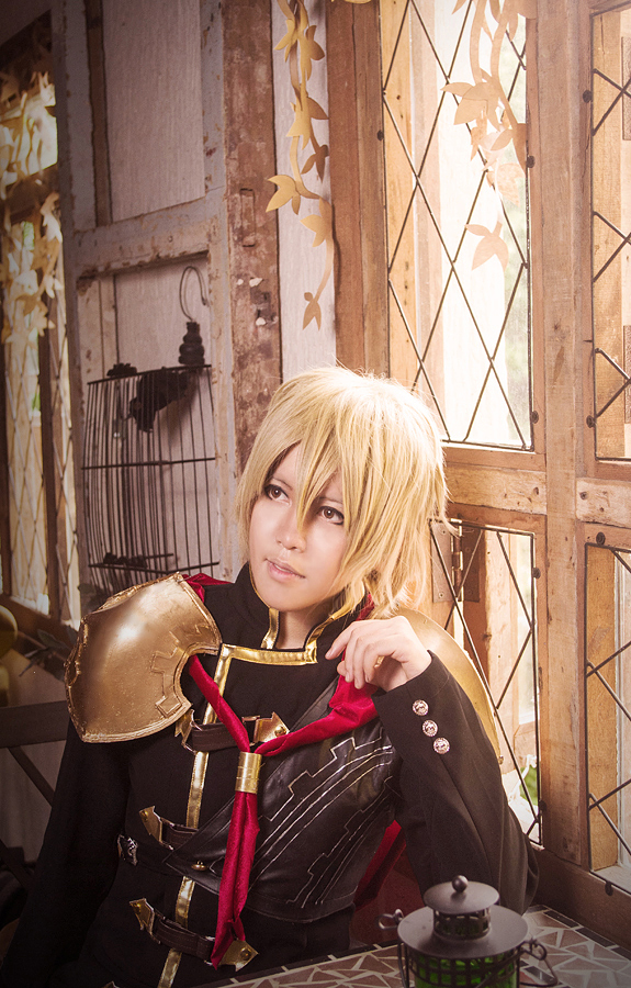 FInal Fantasy Type 0 - Trey by dark1110