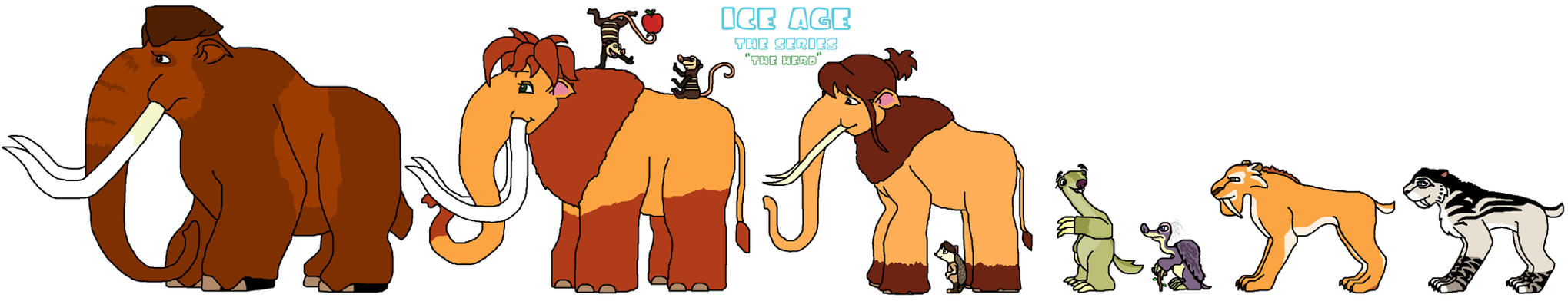 Ice Age The Series Concept By NinjaTurtleManiac On DeviantArt
