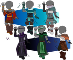 Mage Outfits (4/6 open)