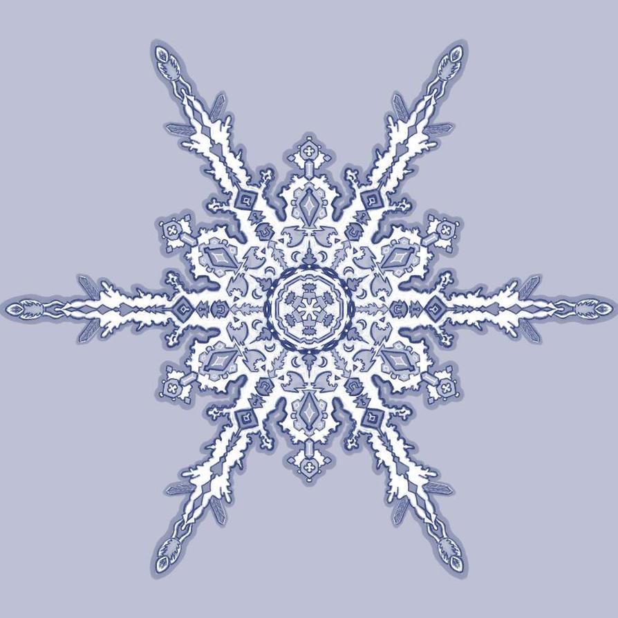 Snowflake005 by JABcomix