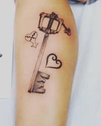 Kingdom Hearts Tattoo by Rainrain9