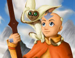The last airbender by NeonSoul-Art