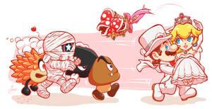 Rescue! - Mario x Peach