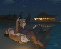 CM: Stargazing (Ignis x Amanda)