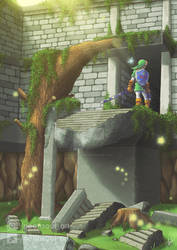 OOT - Forest Temple entrance