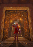 OOT - Fire Temple entrance