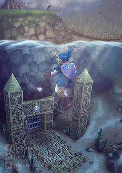OOT - Water Temple entrance