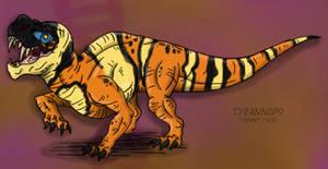 Jurassic Park Chaos Effect: Tyrannops
