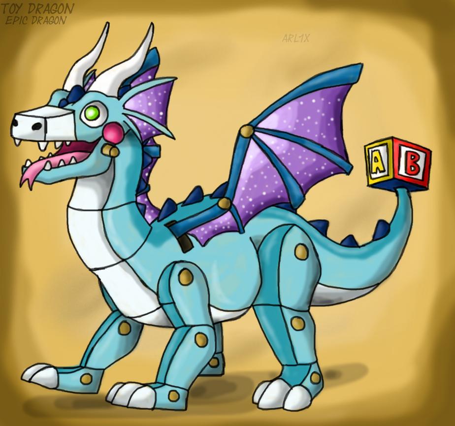 DragonVale Toy Dragon CONCEPT By Fnafnir On DeviantArt