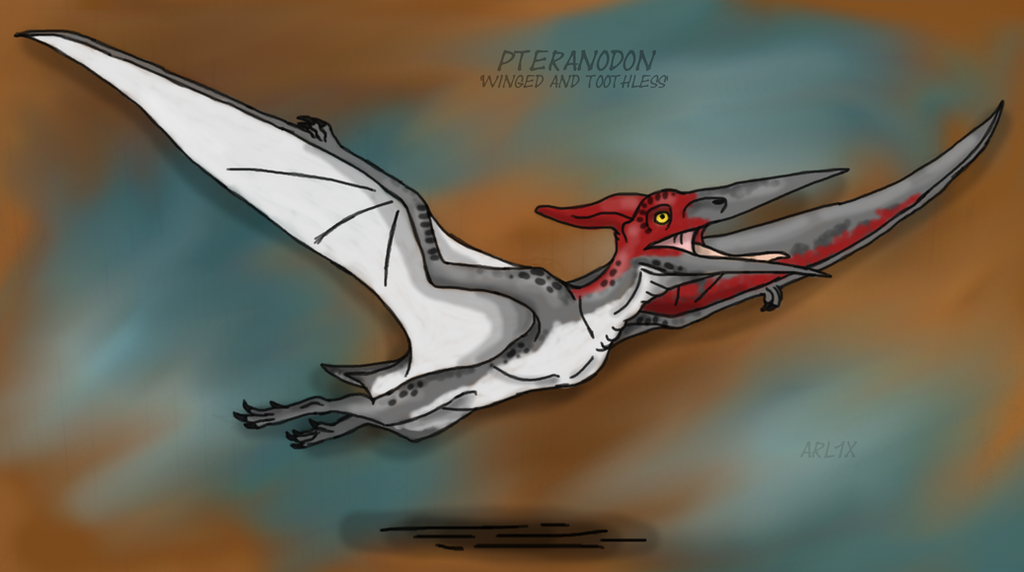 Jurassic World: Pteranodon 1 by Fnafnir on DeviantArt