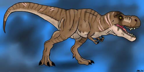 Jurassic World: Tyrannosaurus rex 1 by Fnafnir