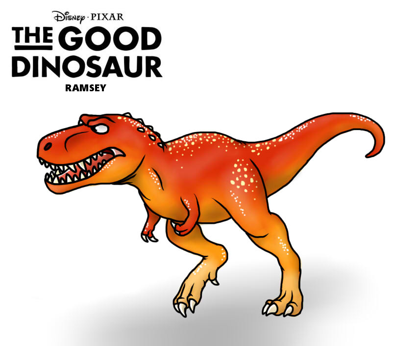 the good dinosaur ramsey by fnafnir on deviantart