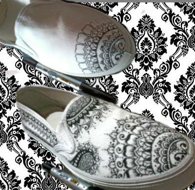 D I Y Canvas Shoe Design By Biolojoitch On Deviantart