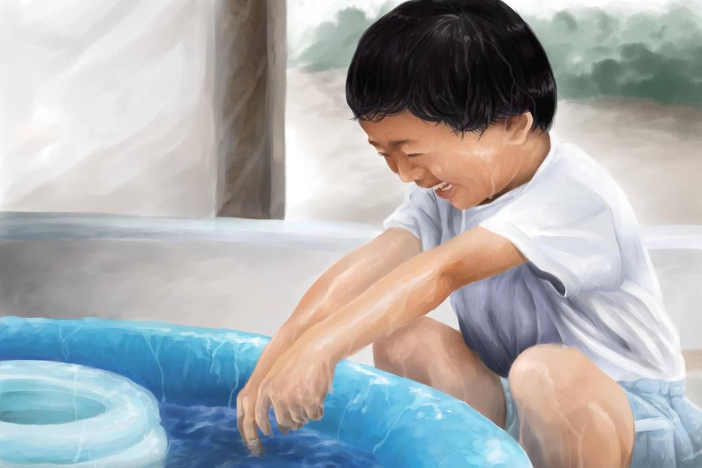 Childhood by Toyoki-san