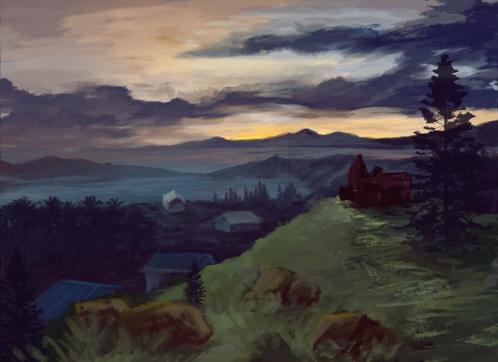 Landscape 2 by Toyoki-san