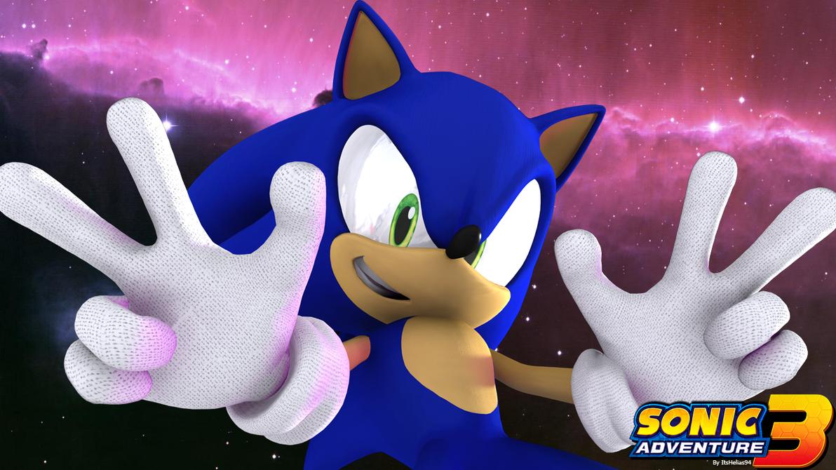 I'm Sonic! Sonic the Hedgehog! by itsHelias94