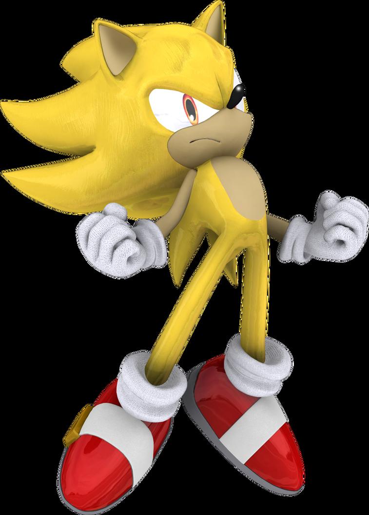 Super Sonic the Hedgehog by itsHelias94