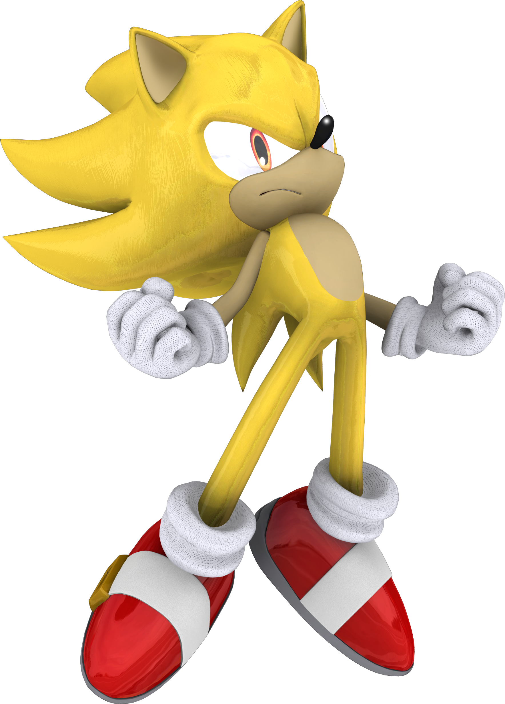 Super Sonic the Hedgehog by itsHelias94