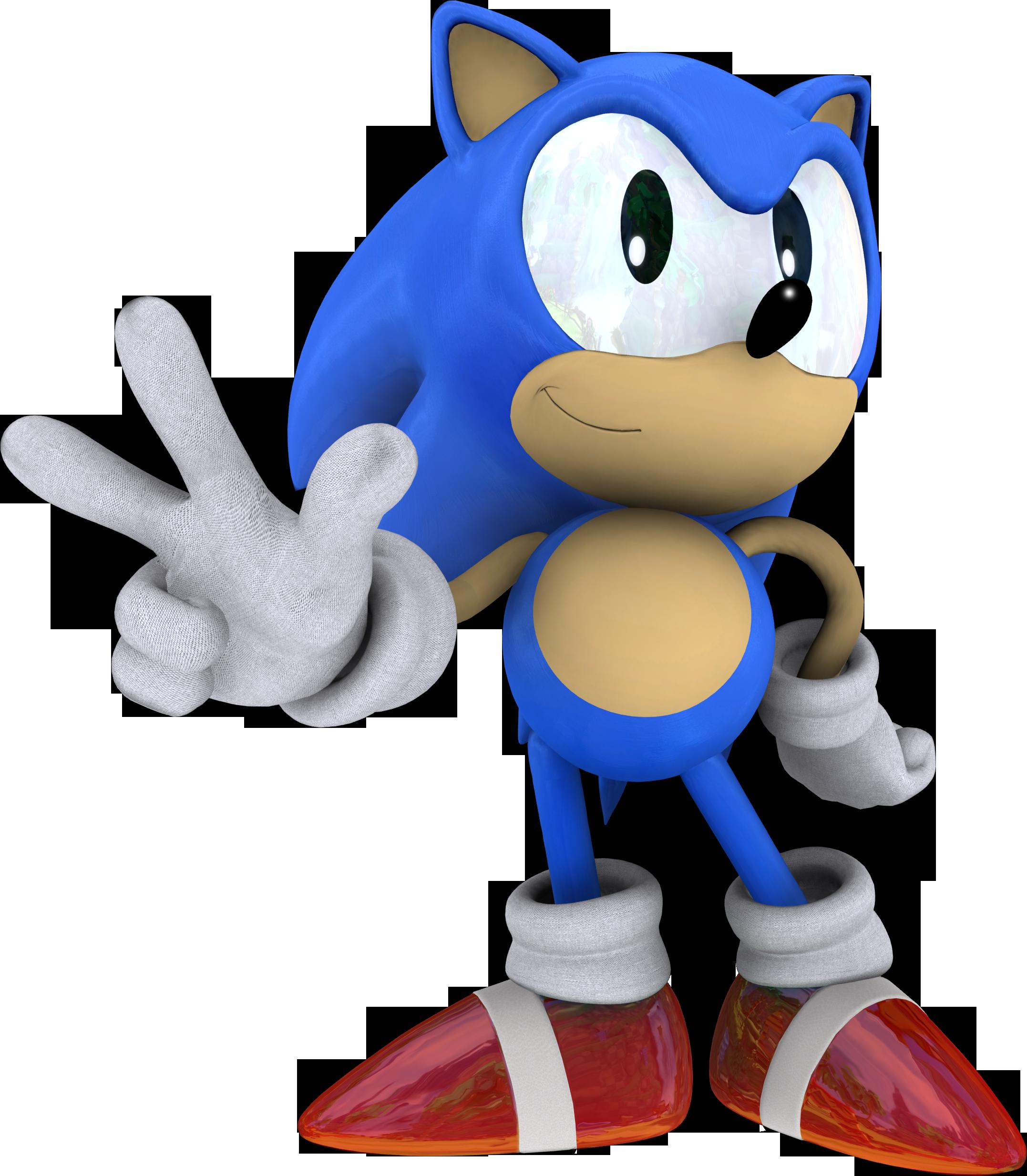 Classic Sonic the Hedgehog (Sonic 3) by itsHelias94